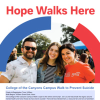 College of the Canyons Campus Walk to Prevent Suicide