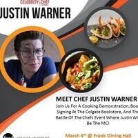 Celebrity Chef: Justin Warner