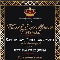 Black Excellence Formal | Lehigh After Dark