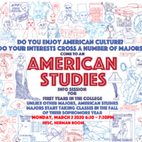American Studies Information Session Spring 2020