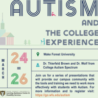 Advising Students with Autism