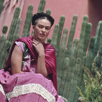 Frida and Cactus