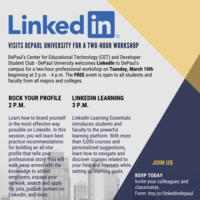 LinkedIn Visits DePaul for 2-hour Professional Workshop