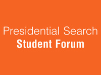 SHSU Presidential Search - Student Forum