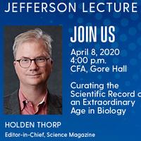Edward G. Jefferson Life Sciences Lecture
