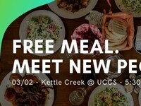 Meet new people, get a free meal