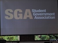 Student government association screen