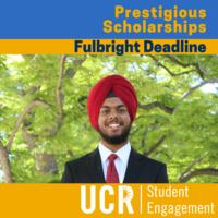 Fulbright - Deadline
