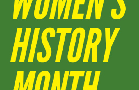 Women's History Month logo