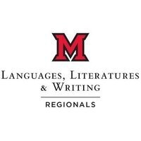 logo text reads: Languages, Literatures, & Writing