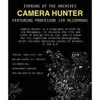 CANCELLED: Camera Hunter: Evening at the Archives with Jim McCommons