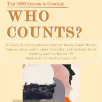 *CANCELED* Census 2020 Teach-In