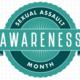 Logo Reads: Sexual Assault Awareness Month