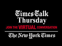VIRTUAL Times Talk Thursday