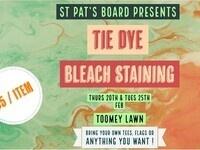 Tie Dye & Bleach Staining