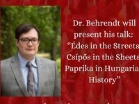 """Brown Bag Series: Dr. Andrew Behrendt Presents """"Édes in the Streets, Csípős in the Sheets: Paprika in Hungarian History"""""""