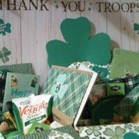 St. Paddy's Day Packages for Troops