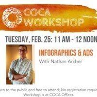 COCA Workshop: Infographics & Ads – Design Strategies