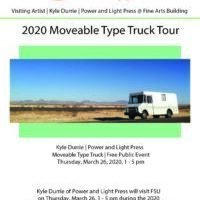 2020 Moveable Type Truck Tour