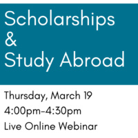 Scholarships & Study Abroad