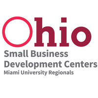 Text reads; Ohio Small Business Development Centers Miami University Regionals