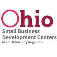 Text Reads: Ohio Small Business Development Centers Miami University Regionals