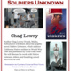 Soldiers Unknown: A Talk & Signing with Chag Lowry