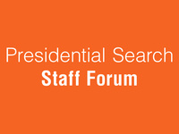 SHSU Presidential Search - Staff Forum