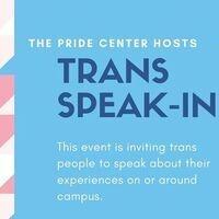 Trans Speak-In
