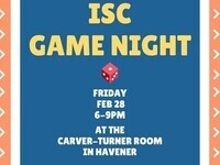 ISC Game Night