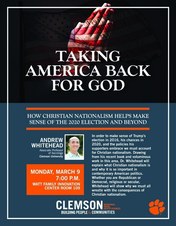 Taking America Back for God: How Christian Nationalism Helps Make Sense of the 2020 Election and Beyond