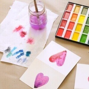 Watercolors for Kids!