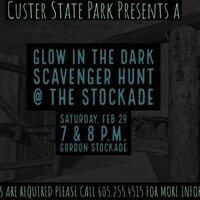 Glow in the Dark Scavenger Hunt