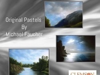 Light Dispels Darkness: Pastels by Michael Faucher Exhibition Reception