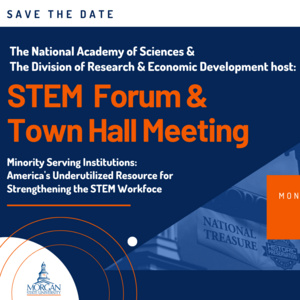 National Academy of Sciences & D-RED hosts: STEM Forum and Town Hall Meeting