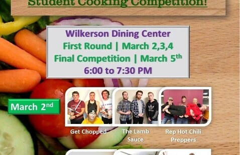 Chopped:  Student Cooking Competition