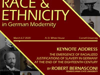 Conference: Representations of Race and Ethnicity in German Modernity