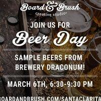Brewery Draconum Night at Board & Brush!