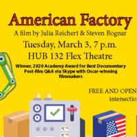 """American Factory"" Screening"