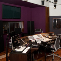Clonick Hall audio control room