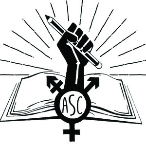 logo of the women's, gender, and sexuality studies program at ASC