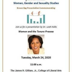 Join Dr. Leah Hollis for the Discussion