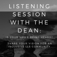 Listening Session with the Dean