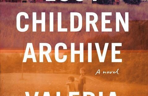 The cover of the book Lost Children Archive.