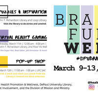 Brain Fuel Week - DePaul Center Library