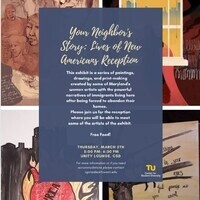 """Canceled: Through 3-20: """"Your Neighbor's Story: Lives of New Americans"""" Art Exhibit"""
