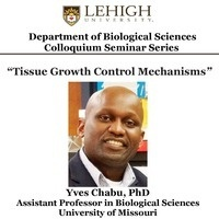 Department of Biological Sciences Colloquium Seminar Series