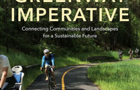 The book cover for The Greenway Imperative.