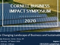 Cornell Business Impact Symposium 2020