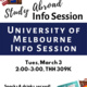 University of Melbourne Info Session